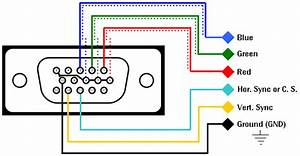 Wiring Diagram For Vga Plug