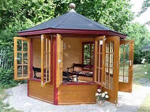 Gartenpavillon Holz Geschlossen : pavillon aus holz tf81 hitoiro ~ Whattoseeinmadrid.com Haus und Dekorationen