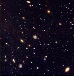 The Big Bang model of the Universe.