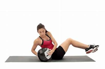 Russian Twist Exercises Ball Medicine Core Exercise