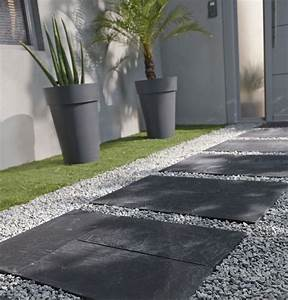 les 25 meilleures idees de la categorie exterieur sur With charming amenagement terrasse et jardin photo 4 des graviers blancs pour amenager le jardin leroy merlin