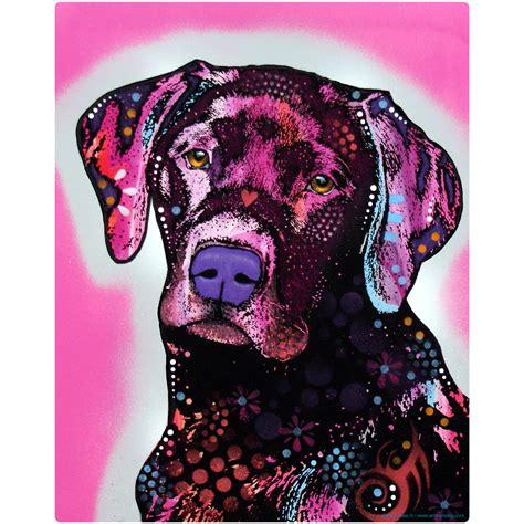 black lab labrador retriever dog dean russo wall decal