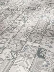 Klick Linoleum Preis : parador vinyl trendtime ornamentic grey ~ Markanthonyermac.com Haus und Dekorationen