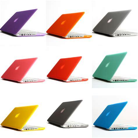 color laptop 11 color matt rubberized cover for apple macbook
