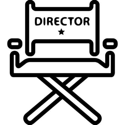 cinema siege chaise de directeur de cinéma télécharger icons gratuitement