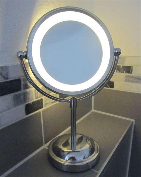 light up mirror 5 x magnifying led illuminated bathroom make up