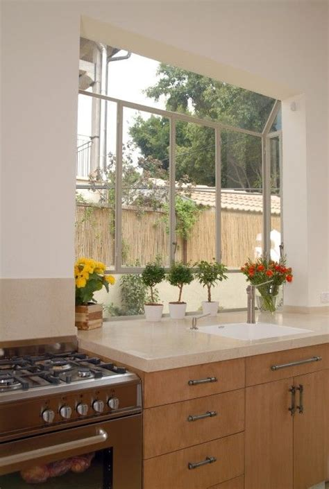 large kitchen window greenhouse for the home kitchen