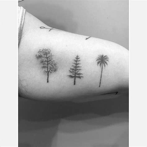 oak pine palm tree tattoos  tattoo ideas gallery