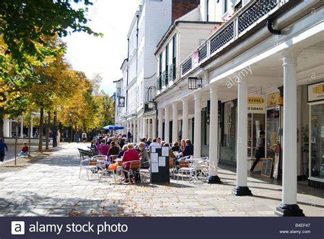 Shops And Restaurants, The Pantiles, Royal Tunbridge Wells