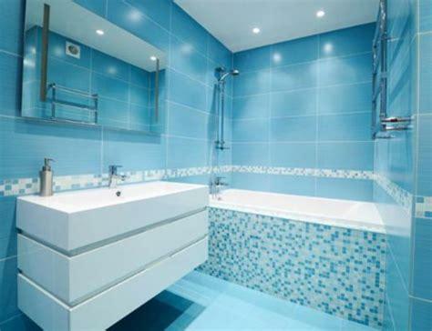 Moderne Badezimmer Blau by 20 Beispiele F 252 R Blaue Bodenfliesen Im Badezimmer