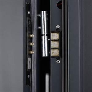 porte blindee avec serrure electrique 2 faces acier With acheter porte blindée