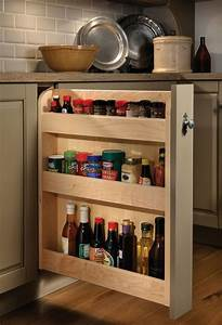 Base Pull-Out Spice Rack