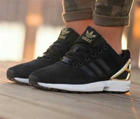 adidas schuhe damen schwarz gold shoes adidas zx flux