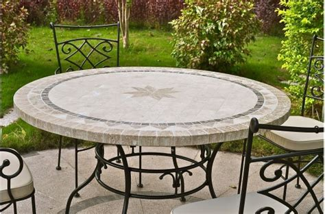 """4963"""" Round Outdoor Patio Table Stone Marble Mosaic Mexico. Modern Design Desk. Unique Table Tops. Gold Drum Table. White Chair Desk. Cheap Wooden Desk. White Trunk Coffee Table. Desk Chair For Girls. Lifetime Folding Tables"""