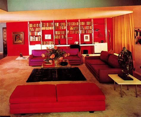 Groovy Interiors 1965 And 1974 Home Décor: Home '65: A Groovy Look At Mid-Sixties Interior Décor