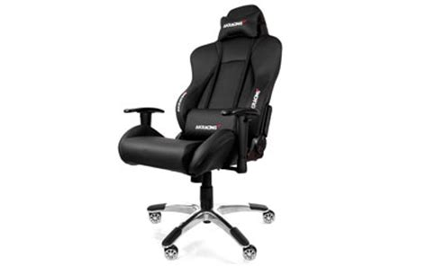 systeme u siege akracing premium gaming chair argent