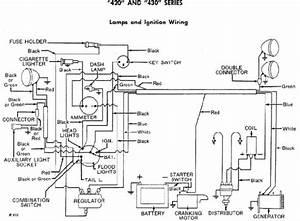 John Deere 420 Garden Tractor Wiring Diagram