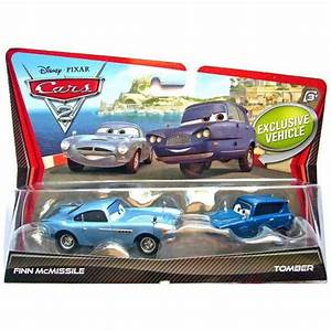 Cars 2 - Character Finn McMissile ad Tomber 2-Pack | IWOOT