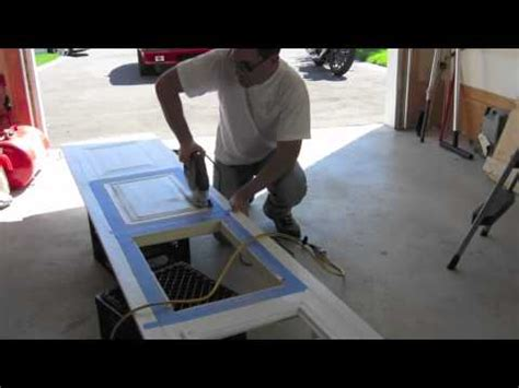 How To Put On Garage Door by Garage Windows Install