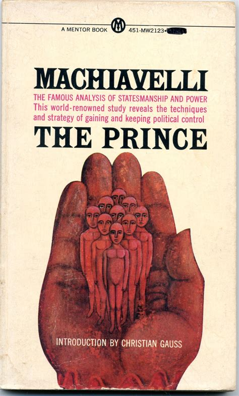 the 4th of madness machiavelli s the prince