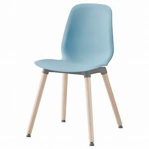 Chaise Polycarbonate Ikea : leifarne chair light blue ernfrid birch ikea ~ Teatrodelosmanantiales.com Idées de Décoration