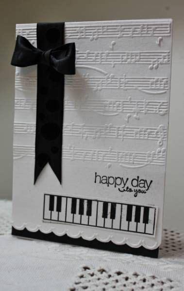 musical birthday cards ideas  pinterest