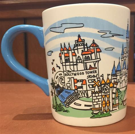 Disney fairy tale collection mugs + limited designer collection peter pan & captain hook. Disney Walt Disney World 4 Parks Skyline Ceramic Coffee Mug New - Walmart.com