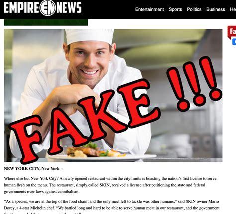 foto de New York Restaurant get License to Serve Human Flesh FAKE