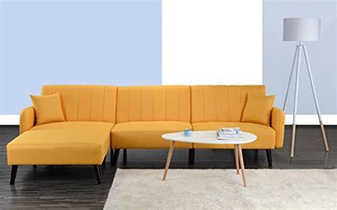 Divano Roma Furniture Mid Century Modern Style Linen