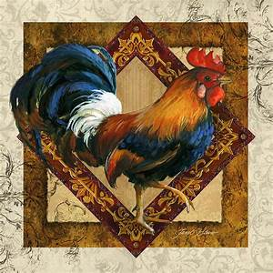 Ruler Of The Roost Painting by Janet Stever