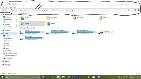 menu bar in file explorer missing microsoft community
