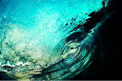 Inside Sea Wave Water Desktop Oceano Nature