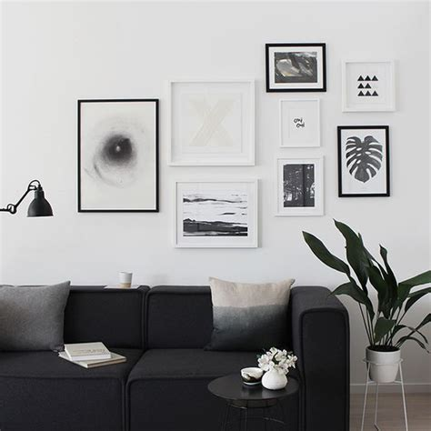 modern or ideas photo gallery 31 modern photo gallery wall ideas shelterness