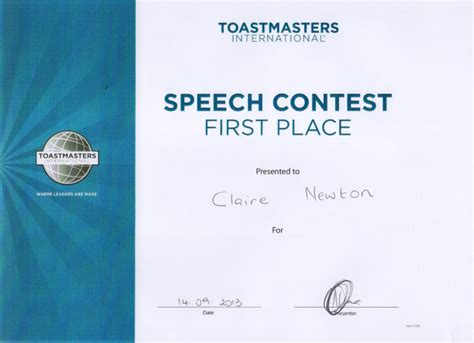 toastmasters save the date template about me claire newton