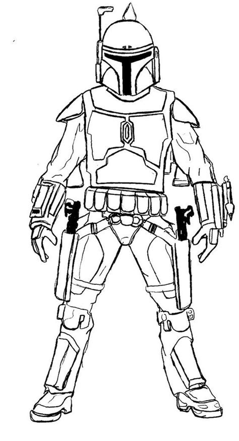 Coloring Pages Printable Star Wars