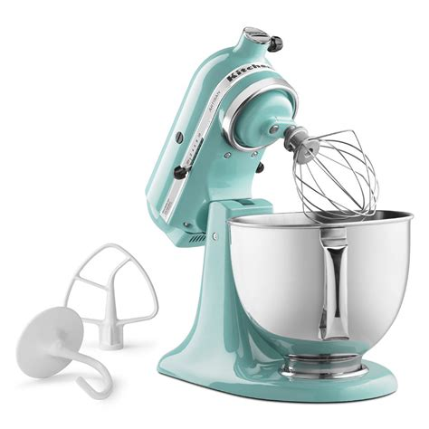 Kitchenaid Mixer Aqua Sky by Kitchenaid Ksm150psaq 10 Speed Stand Mixer W 5 Qt