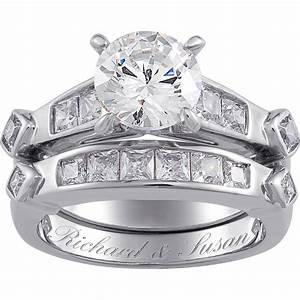 wedding rings cheap bridal sets white gold bridal sets With cheap diamond wedding ring sets for her