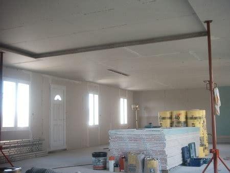poser du placo au plafond sans leve plaque comment faire un faux plafond dans des combles 224 marseille modele contrat travaux renovation
