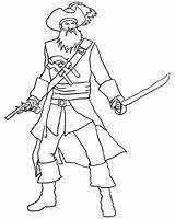 Pirate Coloring Pages Freely Downloadable Printable Clipartqueen Via sketch template