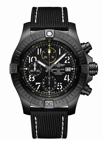 Avenger Breitling Night Mission Chronograph Watches