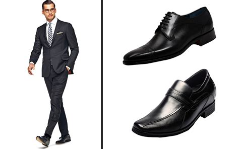 what color shoes to wear with grey suit what of shoes to wear with a black suit style guru