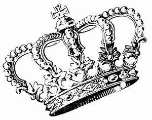 Need Make Use   Crown Drawing, Crowns and Brain - ClipArt ...