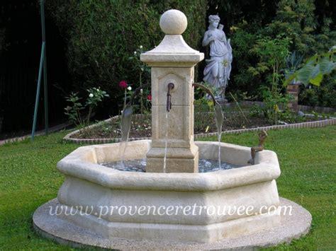 installer une fontaine en dans jardin