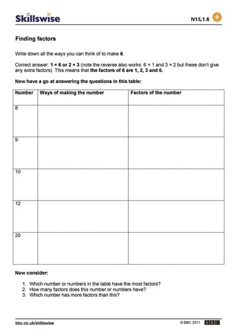 finding multiples worksheets worksheets for all