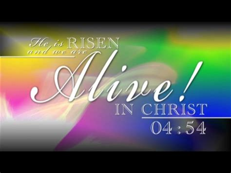 alive  christ countdown flickering mind media