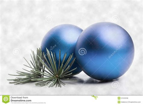 blue christmas baubles stock photo image 21518190