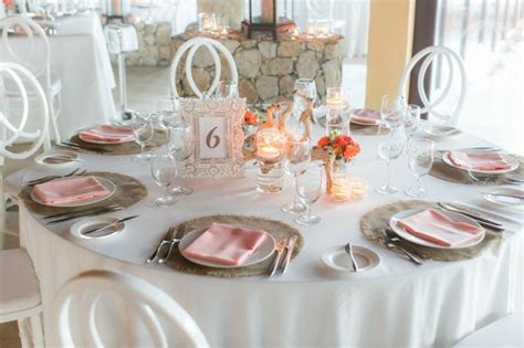 d 233 coration table mariage 40 id 233 es 233 l 233 gantes