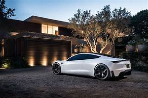 Tesla Roadster Delights Us In New Images: Wallpaper Wednesday