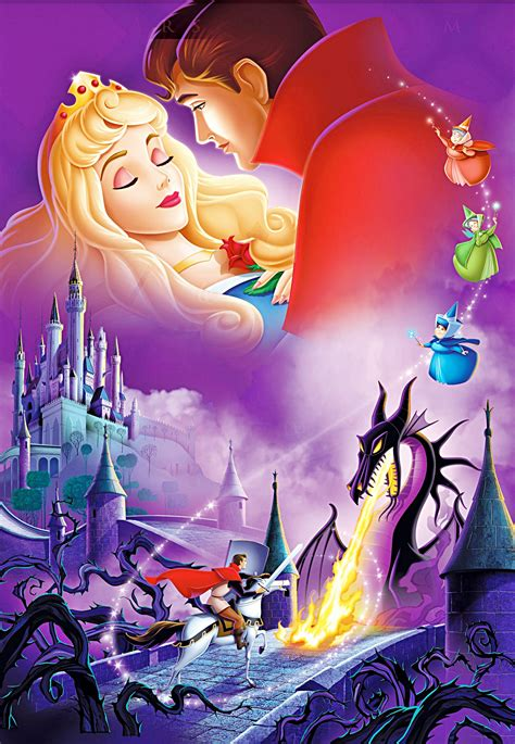 walt disney characters sleeping beauty hd image wallpaper