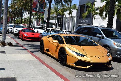 Lamborghini Huracan Spotted In Beverly Hills, California